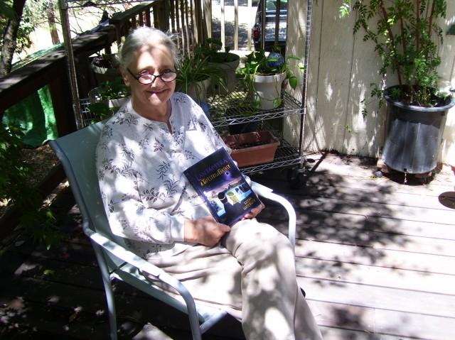 Congratulations Susan--It's a book! 001